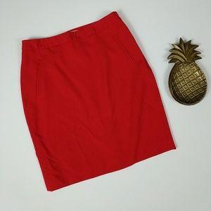 LOFT Factory Pocket Pencil Skirt